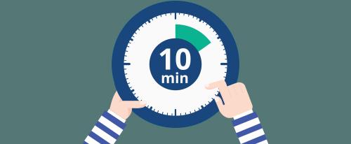 체류시간 이미지