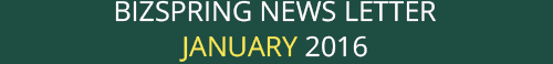 BIZSPRING NEWS LETTER JANUARY 2016