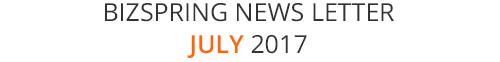 BIZSPRING NEWS LETTER JULY 2017